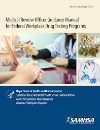 Medical Review Officers Manual - Drug Free Business - 98011